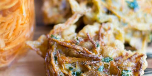 Carrot Fritters by Melanie Lionello Recipe