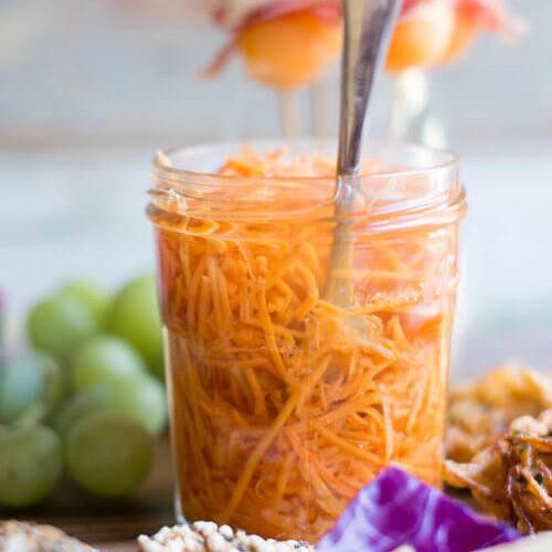 Quick Pickled Carrots Recipe