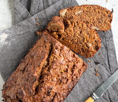 easy peasy carrot loaf